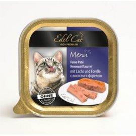 Edel Cat (Эдель Кeт) mit Lachs und Forelle - паштет для кошек (лосось и форель)