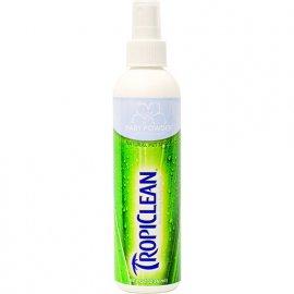 Tropiclean (Тропиклин) BABY POWDER (ДЕТСКАЯ ПУДРА) дезодорант-антистатик для собак и кошек, 236 мл