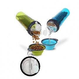 Dexas (Дексас) SNACK COMPANION CUP (ЛАКОМСТВА И ВОДА) бутылка-контейнер для собак и кошек
