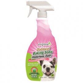 ESPREE (Эспри) Oatmeal Baking-Soda Waterless Bath - Спрей для экспресс очистки кожи и шерсти собак с протеинами овса и пищевой содой, 710 мл