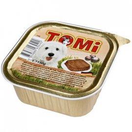 TOMi Turkey+Pasta+Carrots консервы для собак - паштет, индейка, паста и морковь