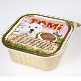 TOMi Veal+Lamb консервы для собак - паштет, телятина и ягненок
