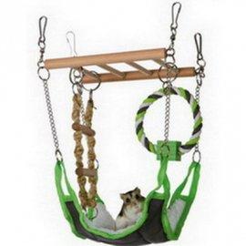 Trixie Подвесной мост с гамаком для хорьков, крыс, шиншилл (6298)