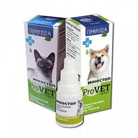 Природа МикоСтоп ProVET- Капли противогрибкового действия для собак и кошек, 10 мл