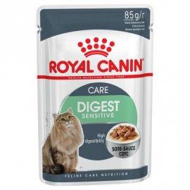 Royal Canin DIGEST SENSITIVE in GRAVY влажный корм для кошек (кусочки в соусе)