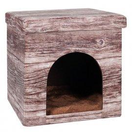 Flamingo CHALET HOUSE домик для котов и собак, ткань