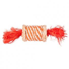 Flamingo ROLE N RUSTLE игрушка для грызунов конфета из соломы, 17 см