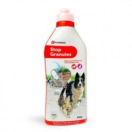 """Flamingo STOP GRANULES отпугивающие гранулы от """"запрещенных"""" зон для кошек и собак, 600 г"""