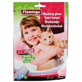 Flamingo WASHING GLOVE CAT влажная рукавица-салфетка для мытья кошек без воды