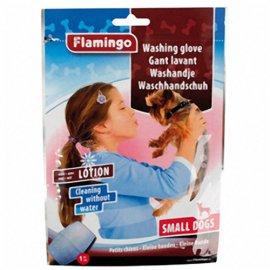 Flamingo WASHING GLOVE DOG влажная рукавица-салфетка для мытья собак без воды