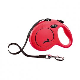 Flexi (Флекси) NEW CLASSIC TAPE (НЬЮ КЛАССИК ЛЕНТА L) поводок-рулетка для собак, 5 м