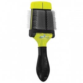 FURminator Small Soft Slicker Brush Мягкая двухсторонняя щетка для малых и средних пород (140320)