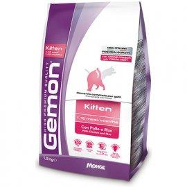 Gemon KITTEN сухой корм для котят от 1 до 12 месяцев КУРИЦА и РИС