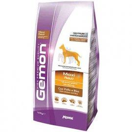 Gemon MAXI ADULT CHICKEN & RICE сухой корм для собак крупных пород КУРИЦА и РИС 15 кг