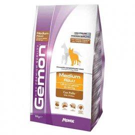 Gemon MEDIUM ADULT CHICKEN & RICE сухой корм для собак средних пород КУРИЦА и РИС