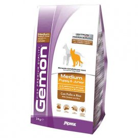 Gemon MEDIUM PUPPY JUNIOR CHICKEN & RICE сухой корм для щенков средних пород КУРИЦА и РИС
