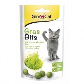 Gimcat GRASBITS - витаминизированное лакомство для кошек с травой