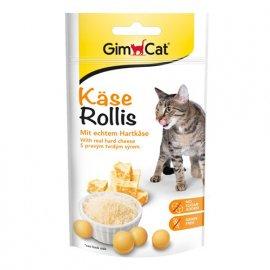 Gimсat KASE ROLLIES (СЫРНЫЕ РОЛИКИ) витаминное лакомство для кошек