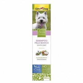 Gimdog Natural Solutions Шампунь для собак с белой шерстью, 250 мл
