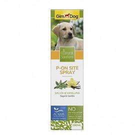 Gimdog Natural Solutions P-ON Спрей для щенков для приучения к туалету, 100 мл
