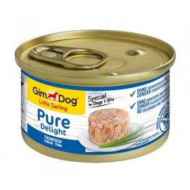 Gimdog Pure Delight TUNA (ТУНЕЦ) консервы для собак 85 г