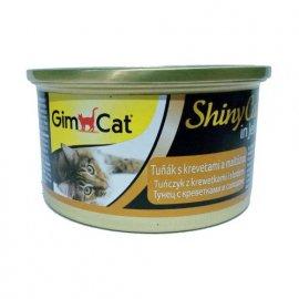 Gimсat (Джимкет) SHINY CAT JELLY (ТУНЕЦ & КРЕВЕТКА И СОЛОД В ЖЕЛЕ) консервы для кошек 70 г