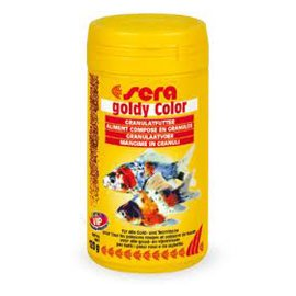 Sera Goldy Color голди колор - корм для усиления окраса золотых рыбок, 250 мл
