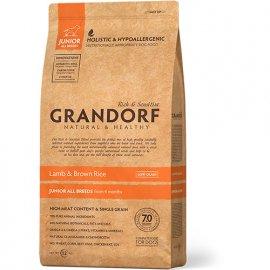 Grandorf (Грандорф) LAMB & RICE JUNIOR (ЯГНЕНОК И РИС ЮНИОР) корм для юниоров для всех пород c 4 месяцев