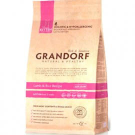 Grandorf (Грандорф) LAMB & RICE KITTEN (ЯГНЕНОК И РИС КИТТЕН) корм для котят