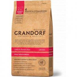 Grandorf (Грандорф) LAMB & RICE MEDIUM (ЯГНЕНОК И РИС МЕДИУМ) корм для взрослых собак средних пород