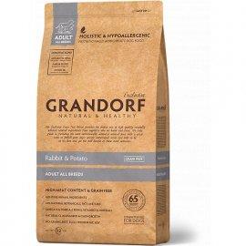 Grandorf (Грандорф) RABBIT & POTATO (КРОЛИК И КАРТОФЕЛЬ) корм для взрослых собак