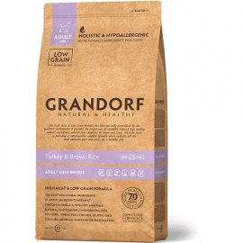 Grandorf TURKEY & RICE MINI (ИНДЕЙКА И РИС МИНИ) корм для собак мелких пород от 1 года