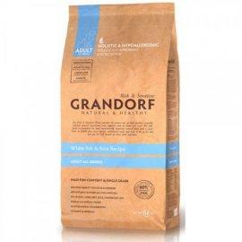 Grandorf (Грандорф) WHITE FISH & RICE (БЕЛАЯ РЫБА И РИС) корм для взрослых собак