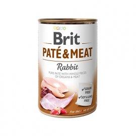 Brit PATE & MEAT RABBIT (КРОЛИК В ПАШТЕТЕ) консервы для собак