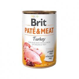 Brit PATE & MEAT TURKEY (ИНДЕЙКА В ПАШТЕТЕ) консервы для собак