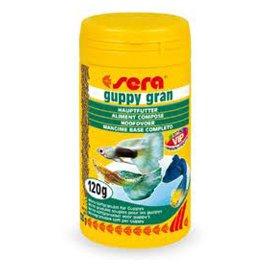 Sera Guppy Gran Гуппи Гран - корм для гуппи в виде мягких микрогранул