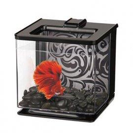 Hagen MARINA BETTA EZ CARE аквариум для петушка черный 2,5 л (13358)