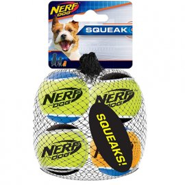 Hagen NERF DOG набор мячей для бластера, 4 шт