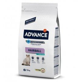 Advance (Эдванс) Sterilized Hairball корм для стерилизованных кошек для выведения шерсти С ИНДЕЙКОЙ
