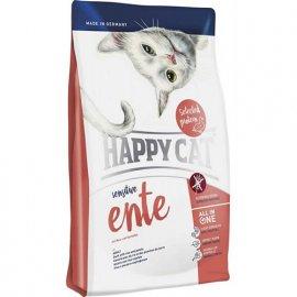 Happy Cat (Хэппи Кет) SENSITIVE ENTE (СЕНСИТИВ УТКА) корм для кошек с чувствительным пищеварением