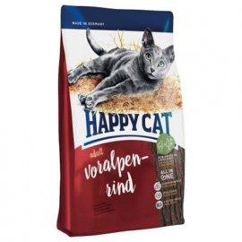 Happy Cat (Хэппи Кет) SUPREME ADULT VORALPEN-RIND (СУПРИМ АЛЬПИЙСКАЯ ГОВЯДИНА) корм для кошек