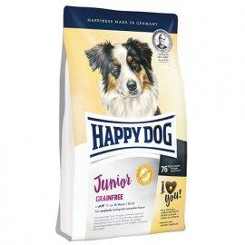 Happy Dog JUNIOR GRAINFREE корм беззерновой для щенков с 7 до 18 месяцев, ПТИЦА и ЯГНЕНОК