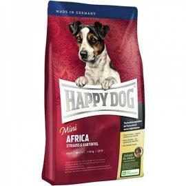 Happy Dog MINI AFRICA (МИНИ АФРИКА) корм для собак мелких пород с чувствительным пищеварением