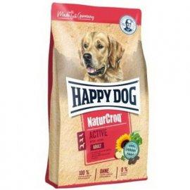Happy Dog (Хэппи Дог) NATUR CROQ ACTIVE (НАТУР КРОК АКТИВ) корм для активных собак, 15 кг