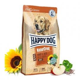 Happy Dog NATUR CROQ RIND & REIS корм для взрослых собак (ГОВЯДИНА и РИС)