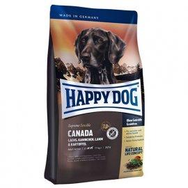 Happy Dog (Хэппи Дог) SUPREME SENSIBLE CANADA (СУПРИМ КАНАДА ЛОСОСЬ КРОЛИК) корм для средних и крупных пород собак при высокой потребности в энергии