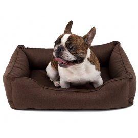 Harley & Cho DREAMER лежак для собак с бортами (рогожка)