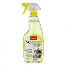 Hartz NODOR LITTER SPRAY - Уничтожитель запаха для кошачих туалетов ароматизированный (H11443) , 503 мл