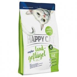 Happy Cat (Хэппи Кет) SENSITIVE LAND-GEFLUGEL (СЕНСИТИВ ДОМАШНЯЯ ПТИЦА) корм для кошек с чувствительным пищеварением