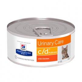 Hill's Prescription Diet c/d Urinary Care лечебные консервы для кошек КУРИЦА